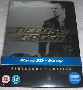 Need-for-Speed-2014-2D-3D-Aaron-Paul-Blu-Ray-Steelbook-Edition-NEU-NEW
