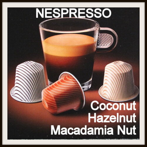 Nespresso Coconut Hazelnut Macadamia Nut Espresso Coffee Capsules Pods LIMITED in Home & Garden, Food & Beverages, Coffee | eBay