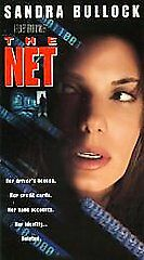 The Net (VHS, 1996, Closed Captioned)