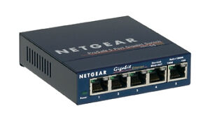 Netgear Prosafe Gs105 on Netgear Prosafe Gs105 5 Ports External Switch   Ebay