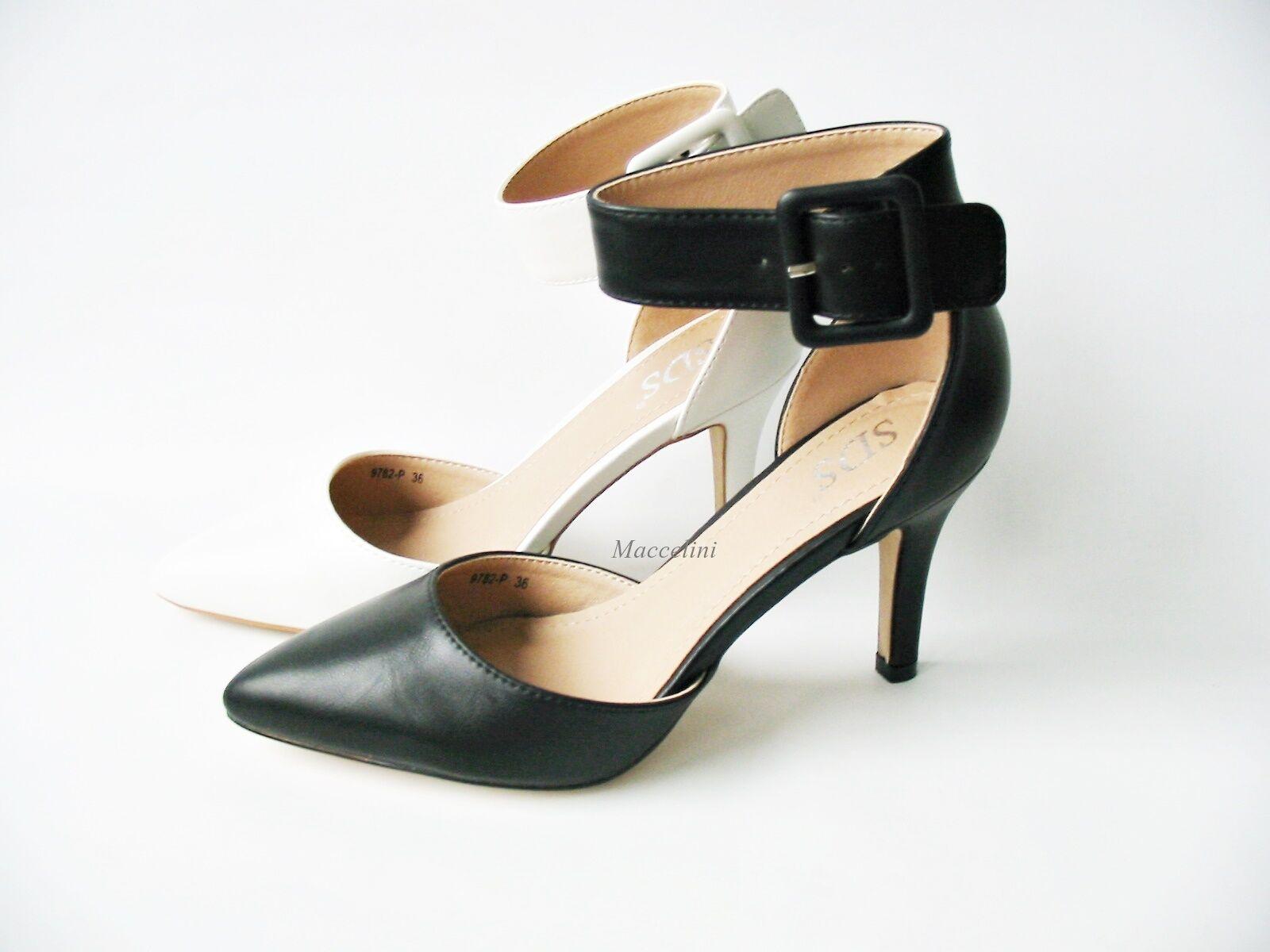 neu damen riemchen pumps high heels hochzeit schuhe 9782. Black Bedroom Furniture Sets. Home Design Ideas
