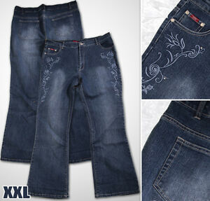 Neu-Damen-Sexxy-Jeans-Hose-in-Groesse-42-bis-50