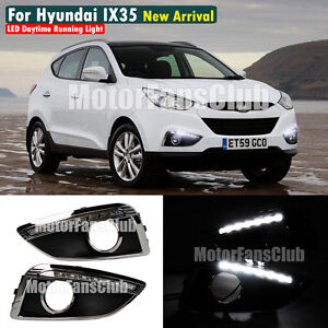 neu led tagfahrlicht f r hyundai ix35 tucson drl tfl fog. Black Bedroom Furniture Sets. Home Design Ideas