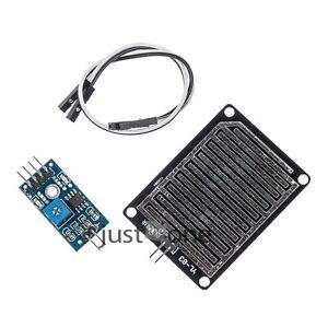 Neu-Luftfeuchtigkeit-Regentropfen-Erkennung-Sensor-Regen-Modul-fuer-Arduino