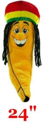 "New 24"" Jamaican Dreadlock Rastafarian Banana Stuffed Plush (2 FEET LONG) RASTA in Toys & Hobbies, Stuffed Animals, Other | eBay"