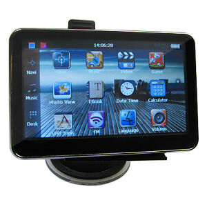 "New 4.3"" Car GPS SAT NAV With UK Map Spe..."