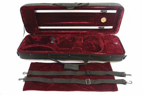 New 4/4 Enhanced Violin Case(VC-350HRD) + Free U.S Shipping in Musical Instruments & Gear, String, Violin | eBay