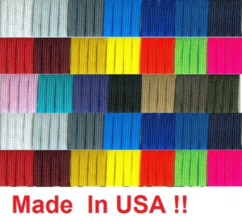 New 550 Paracord Parachute Cord Mil Spec Type III 7 Strand 10 20 50 100 Feet Ft in Sporting Goods, Other | eBay