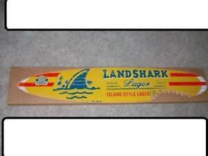 New 6 Landshark Surfboard Sign Jimmy Buffett Wow Cool in #2: $ KGrHqJ hwE2JRTpTv BNqG5tLuVw 35 JPG