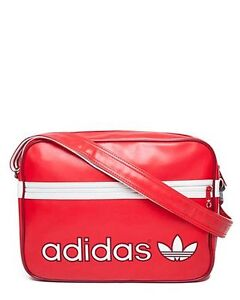New-Adidas-Original-Retro-Messenger-Airline-Bags-Red-White