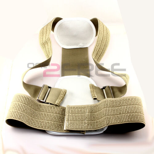 New Adjustable Magnetic Back Support Brace Belt Band Posture Shoulder Corrector in Health & Beauty, Medical, Mobility & Disability, Braces & Supports | eBay