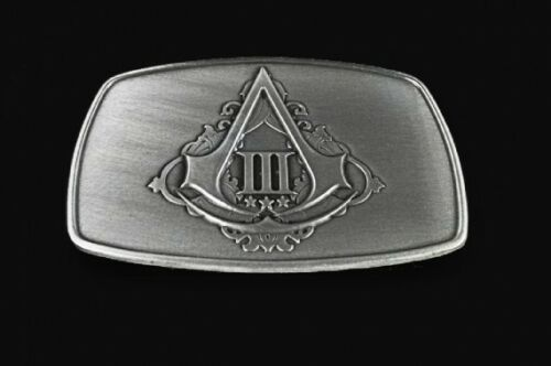 New Assassin's Creed 3 Limited Edition Rare Belt Buckle AC3 III Assassins Creed in Video Games & Consoles, Video Gaming Merchandise | eBay