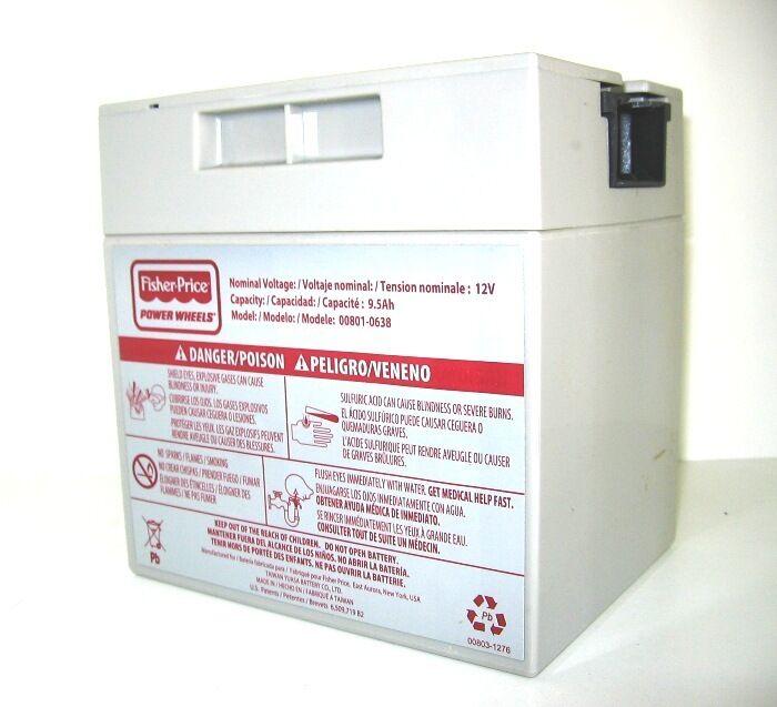 Fisher Price Power Wheels 6 Volt Battery