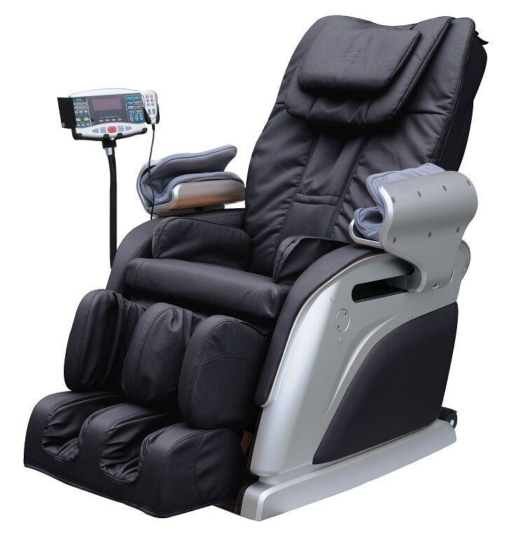 New Beautyhealth BC 10D Recliner Shiatsu Massage Chair Built in Heat BT MD E05