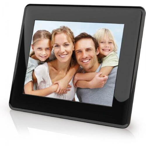 "New Black Coby Electronics 8"" Digital Picture Frame in Black DP843 in Consumer Electronics, Gadgets & Other Electronics, Other 
