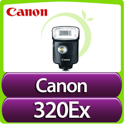 New Canon Speedlite 320EX Flash for Canon SLR Cameras USA in Cameras & Photo, Flashes & Flash Accessories, Flashes | eBay