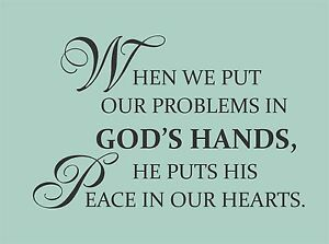new christian inspirational god 39 s peace wall quote words