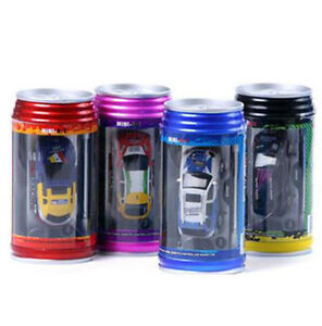 new coke can mini rc radio remote control micro racing car ebay