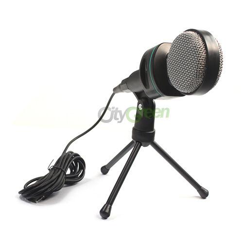 New Condenser Sound Professional Microphone Mic PC Laptop