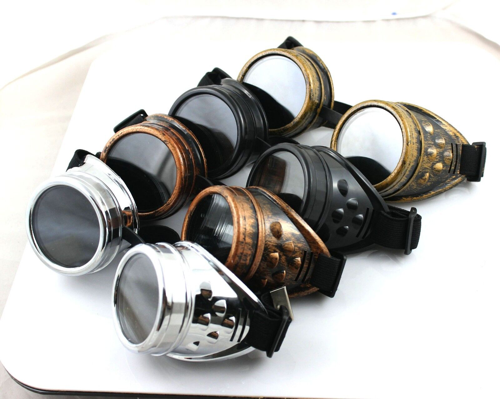 Wholesale Cyber GOGGLES Steampunk Welding Goth Cosplay ...