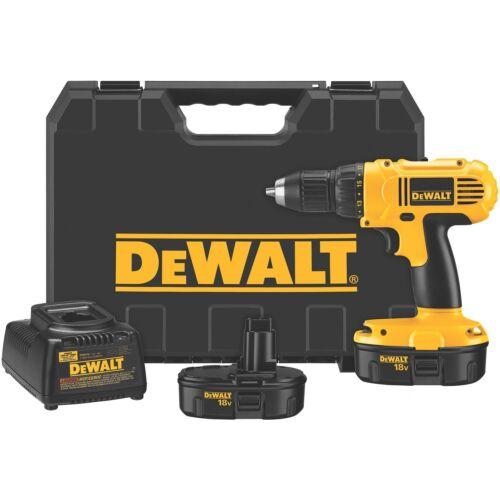 New DeWalt DC970K-2 18V NiCd Cordless Variable Speed Drill Driver in Home & Garden, Tools, Power Tools | eBay