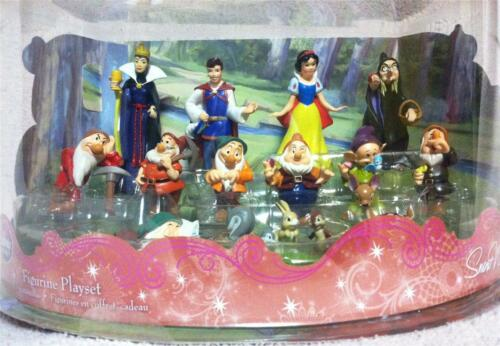New Disney 13 Piece Deluxe Snow White and The 7 Dwarfs Play Set/ Cake Topper in Collectibles, Disneyana, Contemporary (1968-Now)   eBay