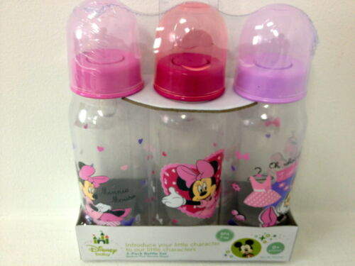 New Disney Baby Girl Bottles 9 ounce with Minnie Mouse in Baby, Feeding, Baby Bottles | eBay
