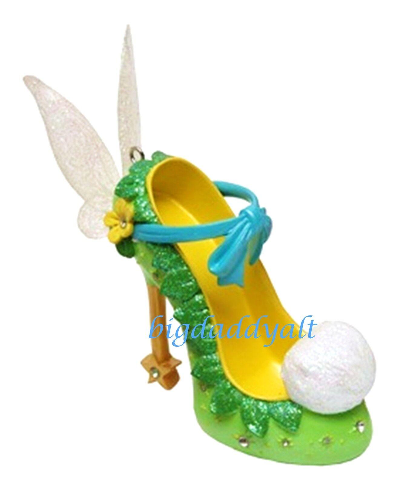 New disney parks tinker bell runway shoe ornament