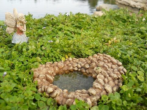 New Dollhouse Miniature Fairy Gnome Garden Fairy Pond Indoor Outdoor