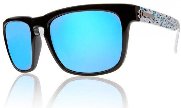 8fbddf31557 New Electric Sunglasses Knoxville Powder Splatter Grey Blue Chrome ...