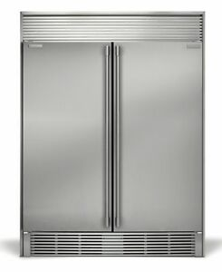 New electrolux icon stainless steel refrigerator freezer combo with