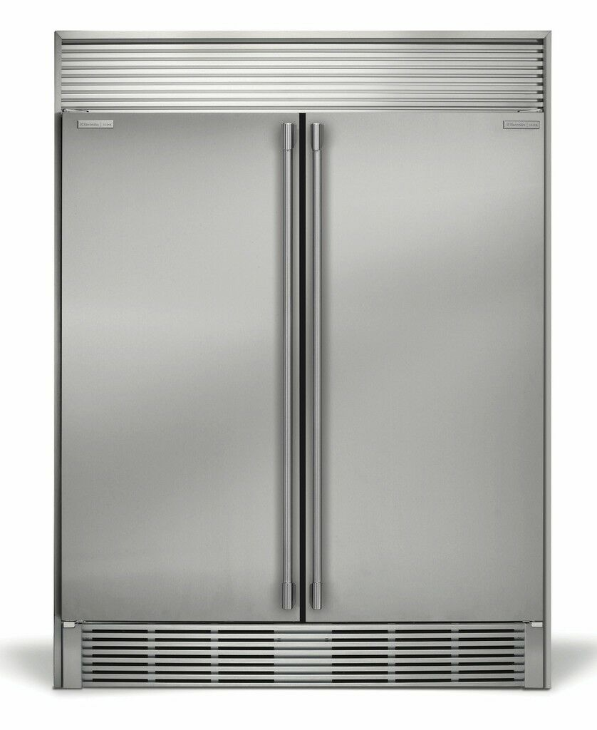 Icon Stainless Steel Refrigerator Freezer Combo with Trimkit