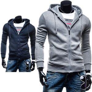 New-Fashion-HH60-Herren-Kapuzenpullover-Sweatshirt-Kapuze-Sweat-Hoodie-Pullover