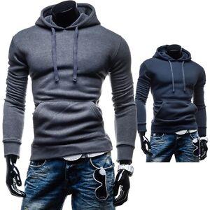 New-Fashion-HH88-Herren-Kapuzenpullover-Sweatshirt-Kapuze-Hoodie-Pullover-Pulli