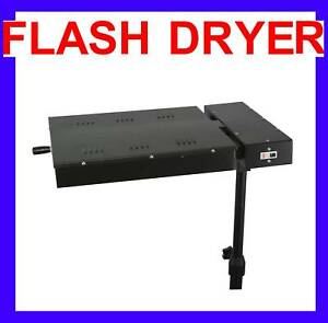 New Flash Dryer Silkscreen T shirt Printing Curing in Business & Industrial, Printing & Graphic Arts, Screen & Specialty Printing | eBay