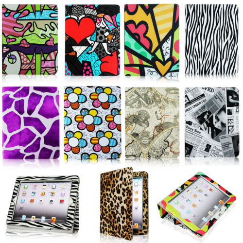 New Folio Magnetic PU Leather Case Smart Cover Stand Wake/Sleep for iPad 2/3/4 in Computers/Tablets & Networking, iPad/Tablet/eBook Accessories, Cases, Covers, Keyboard Folios | eBay