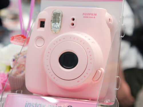 New Fuji Instax Mini 8 Instant Camera Fujifilm Instax Mini 8 Color Pink in Cameras & Photo, Film Photography, Film Cameras | eBay