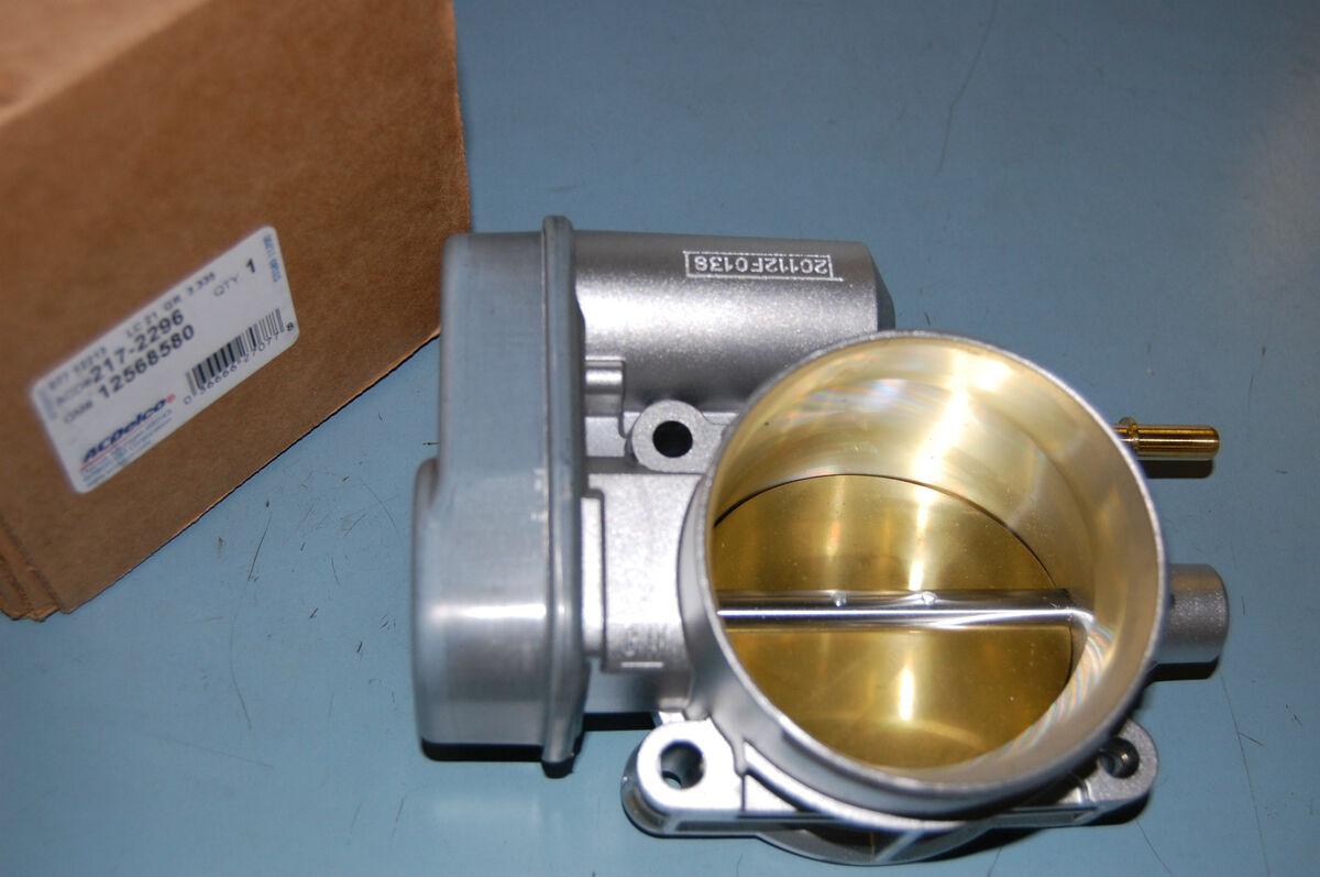 New GM Throttle Body Colorado Canyon Trailblazer Envoy Hummer H2 H3 12568580 TPS