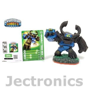 Tree Rex Skylander http://www.ebay.com/itm/New-GNARLY-TREE-REX-Skylanders-Giants-Rare-Blue-Variant-Loose-Figure-Card-Code-/190777336704