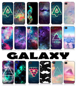 New Galaxy Space Universe Snap on Hard Case Cover Protector for iPhone