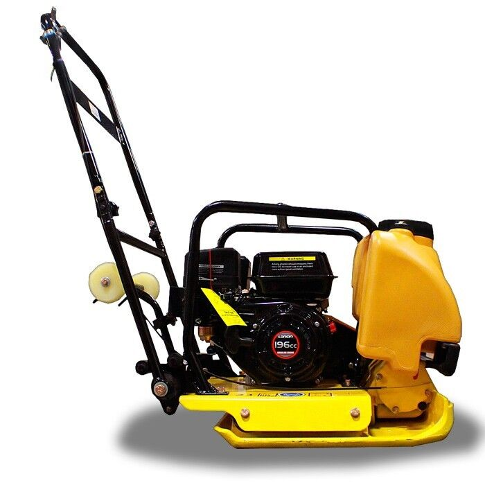 New Gas Power Walk Behind Plate Compactor Tamper Compacts