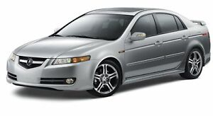 Acura 2008 on New Genuine 2007 2008 Acura Tl Base A Spec Body Kit Front Lip Under