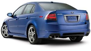 Acura 2007 on New Genuine 2007 2008 Acura Tl Type S A Spec Body Kit Rear Lip Under