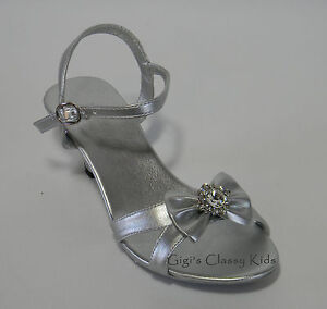 new metallic silver dress shoes size 11