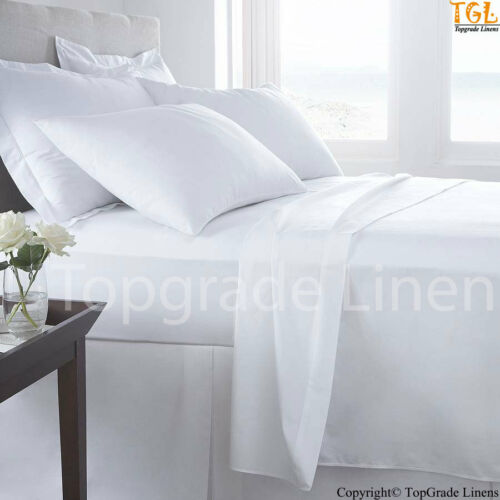 New Green Bedding Organic Cotton 450TC 4 pcs Queen Sheet Set Solid Natural White in Home & Garden, Bedding, Sheets & Pillowcases | eBay