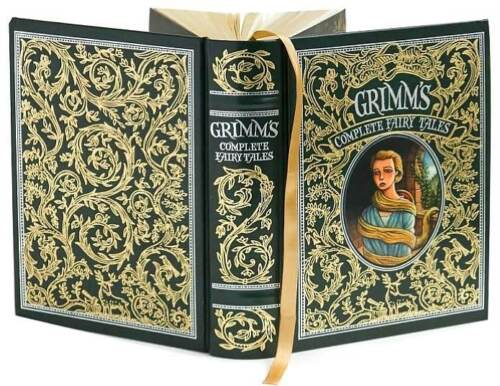 New Grimm's Complete Fairy Tales Leatherbound Classics Brothers Book Folklore in Books, Fiction & Literature | eBay