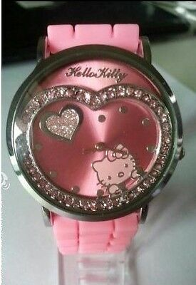 New Hellokitty Jelly Silicone Girls Ladies Women's Wristwatch crystal watches in Crafts, Wholesale Lots, Other | eBay