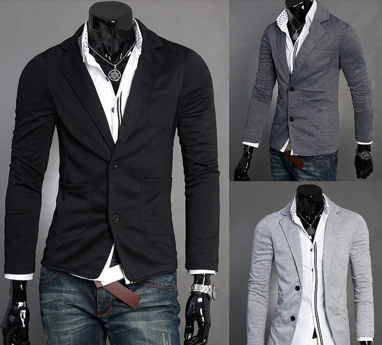 New Korean Style Men's Casual Fashion Suit Jacket Suit Coats,Free Shipping