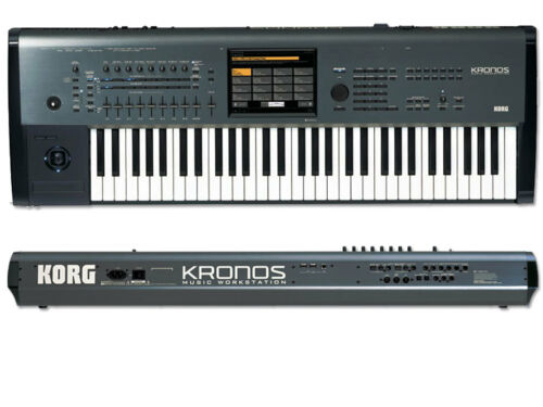 New Korg Kronos 61 Music Workstation w/ Ultimate Support USS1-61 Gig Bag in Musical Instruments & Gear, Electronic Instruments, Synthesizers | eBay