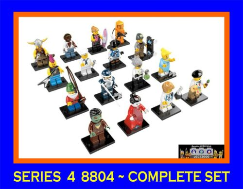 New Lego 8804 Complete Set of 16 Minifigures Series 4 in Toys & Hobbies, Building Toys, LEGO | eBay